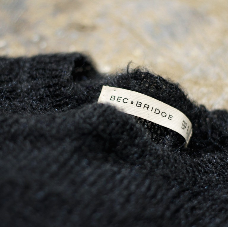BEC & BRIDGE Mohair Short Knit