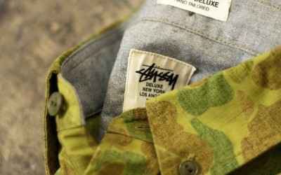 STUSSY DELUXE B.D Ripstop Camouflage Shirt