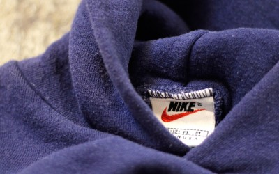 NIKE Vintage 90′s Sweat Parka made in U.S.A