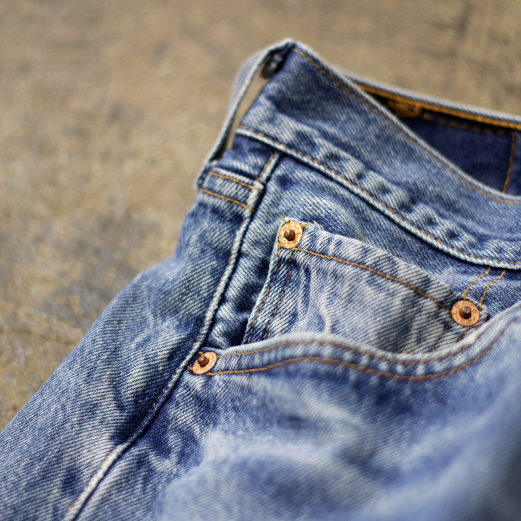 "Levi's Vintage 501 Denim Pants Made in U.S.A ""Later 80's"""