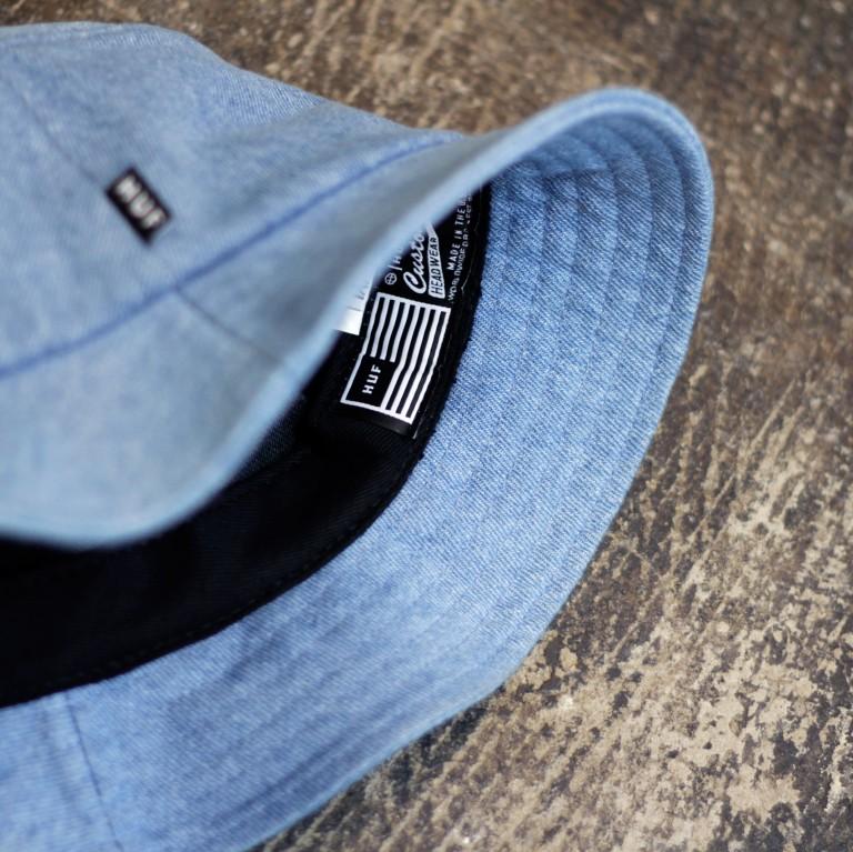 HUF Classic Bucket Hat Denim