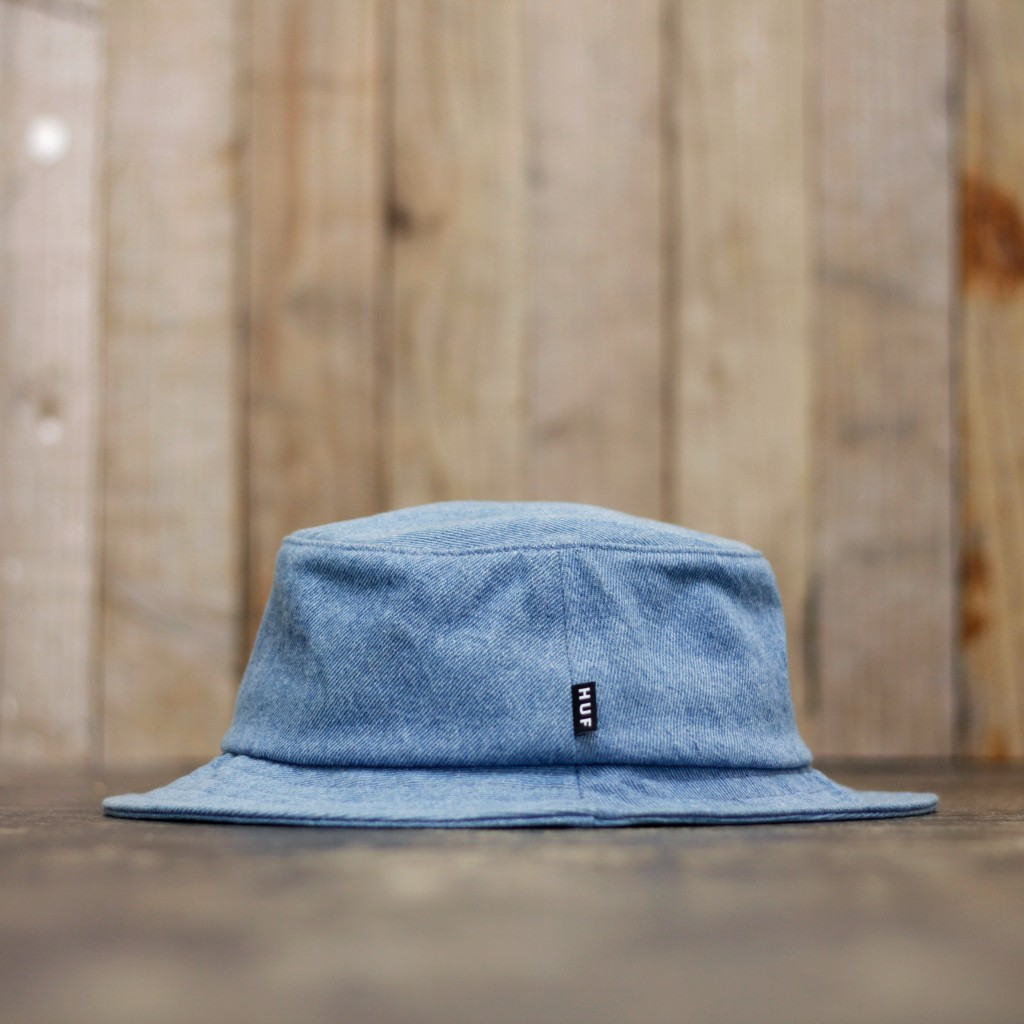HUF Classic Bucket Hat Denim