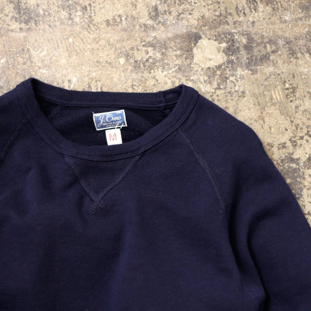 J.CREW Front-V Raglan Sleeve Sweat