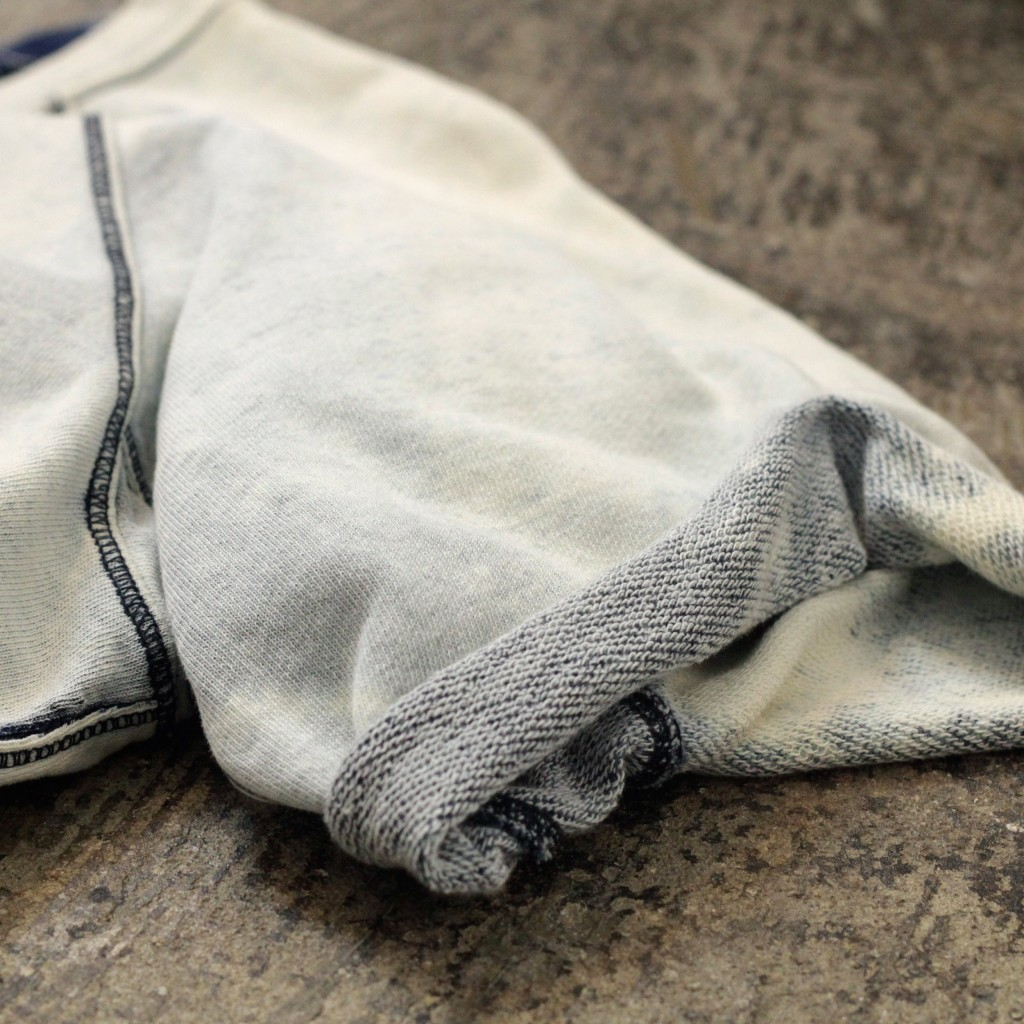 CURRENT / ELLIOTT Indigo Bleach S/S Sweat