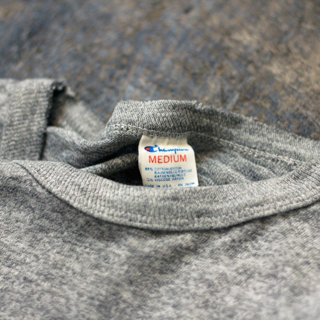 "CHAMPION 80's Vinatge College T-Shirts ""made in U.S.A"""