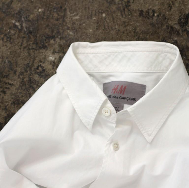 COMME des GARCONS × H&M White Shirts