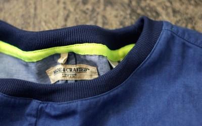MADE & CRAFTED Indigo Pullover Shirt