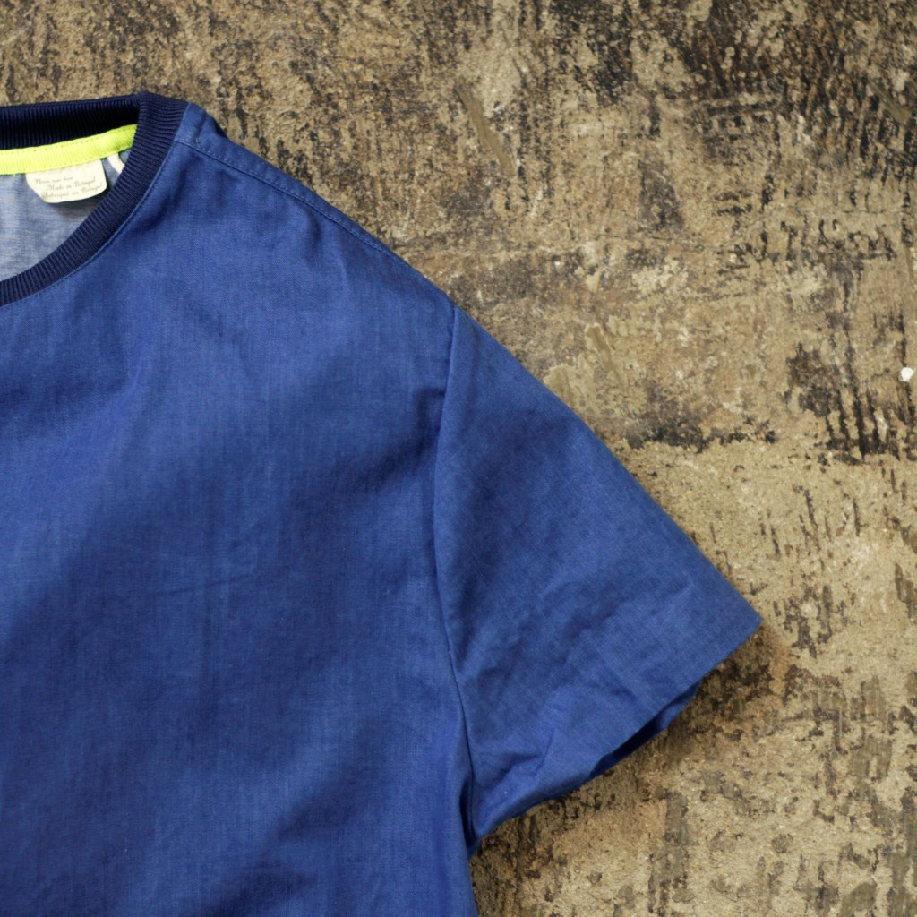MADE & CRAFT Denim Pullover Shirt