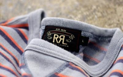 RRL S/S Border Sweat