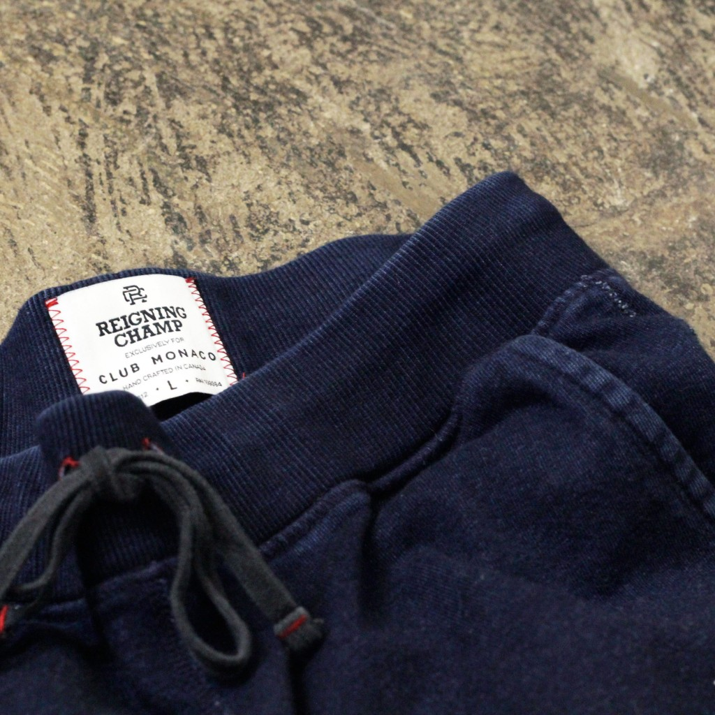 REIGNING CHAMP × CLUB MONACO Indigo Sweat Pants