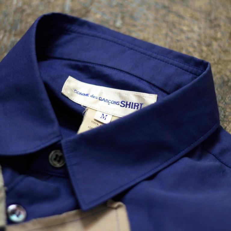 COMME des GARCONS SHIRT S/S Argyle Shirt