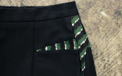 KENZO Black Tight Skirt