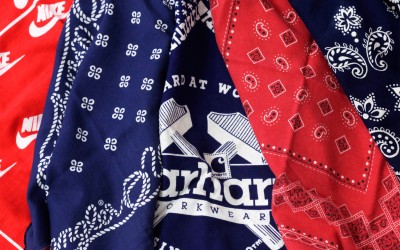 "New Item ""Vintage Bandana"""