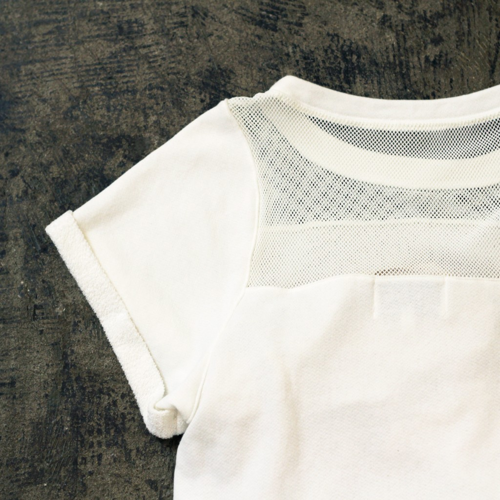 AIKO S/S Mesh Switch Sweat