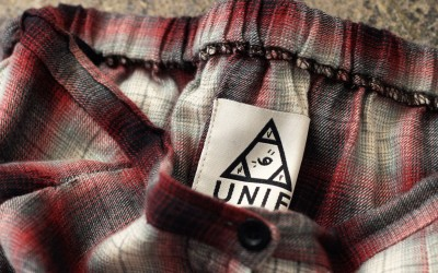 UNIF Check Maxi Skirt