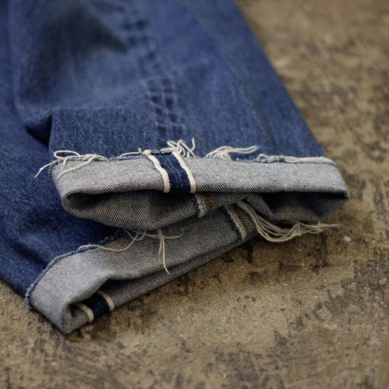 Levi's 501 66 Chain Stitch Cut Off Denim
