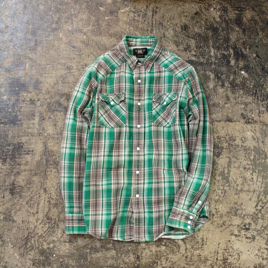 RRL Western Flannel Shirt