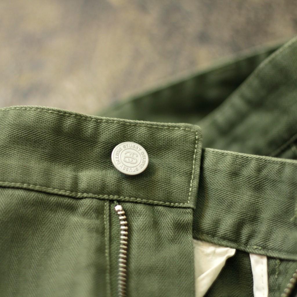 STUSSY DELUXE Herringbone Army Pant
