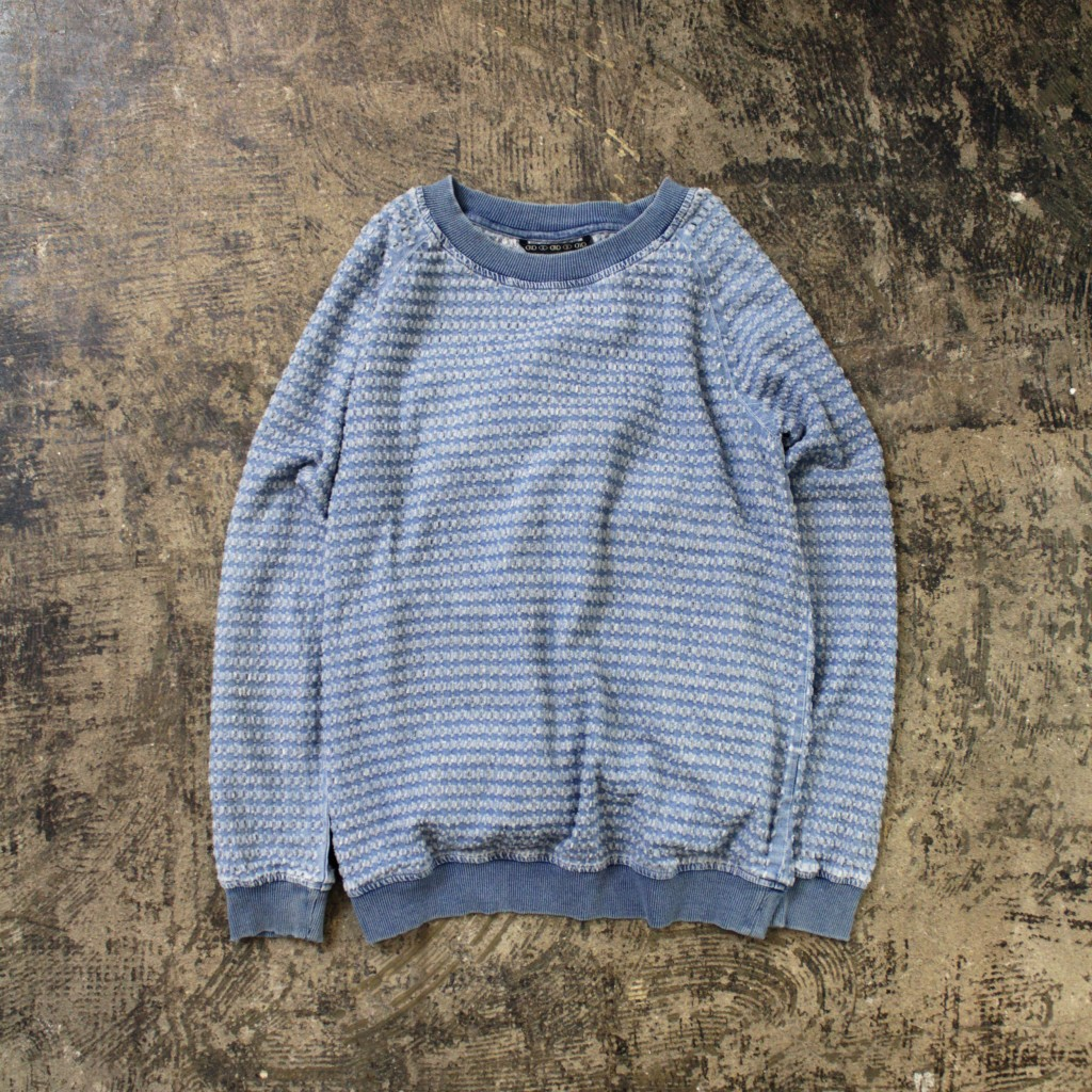 D-ID Denim Crushed Crew Neck Shirt