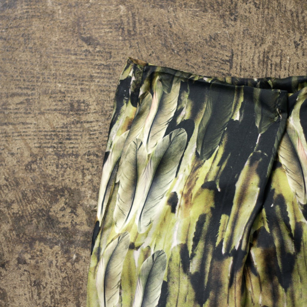 ISABEL MARANT Feather Print Skirt