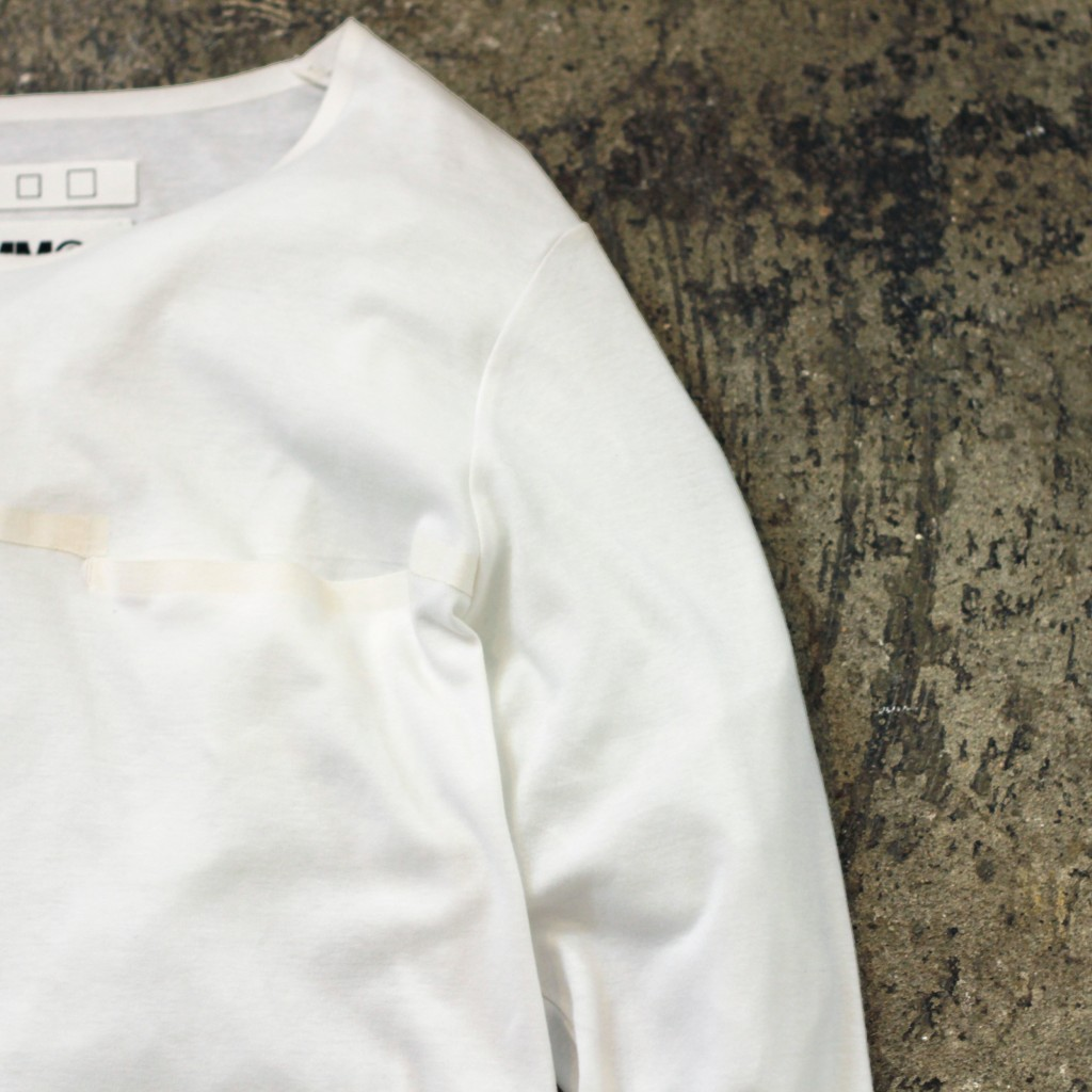 MM⑥ Maison Margiela Asymmetry Design Cut&Sewn