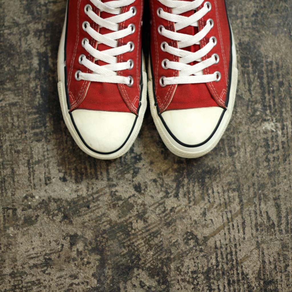 "CONVERSE 90′s Vintage All Star Low ""made in U.S.A"""