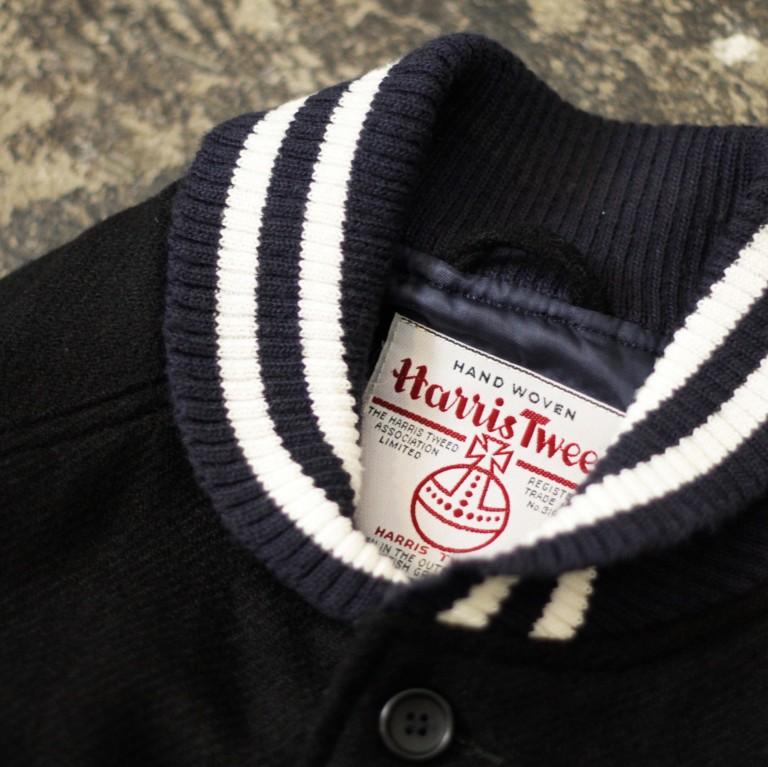 Harris Tweed Wool Versity Vest