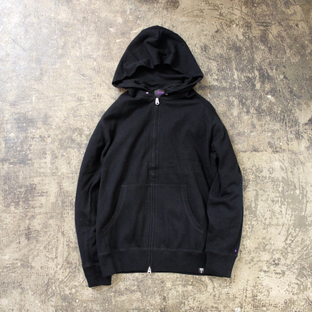 STUSSY DELUXE Zip Up Knit Parka