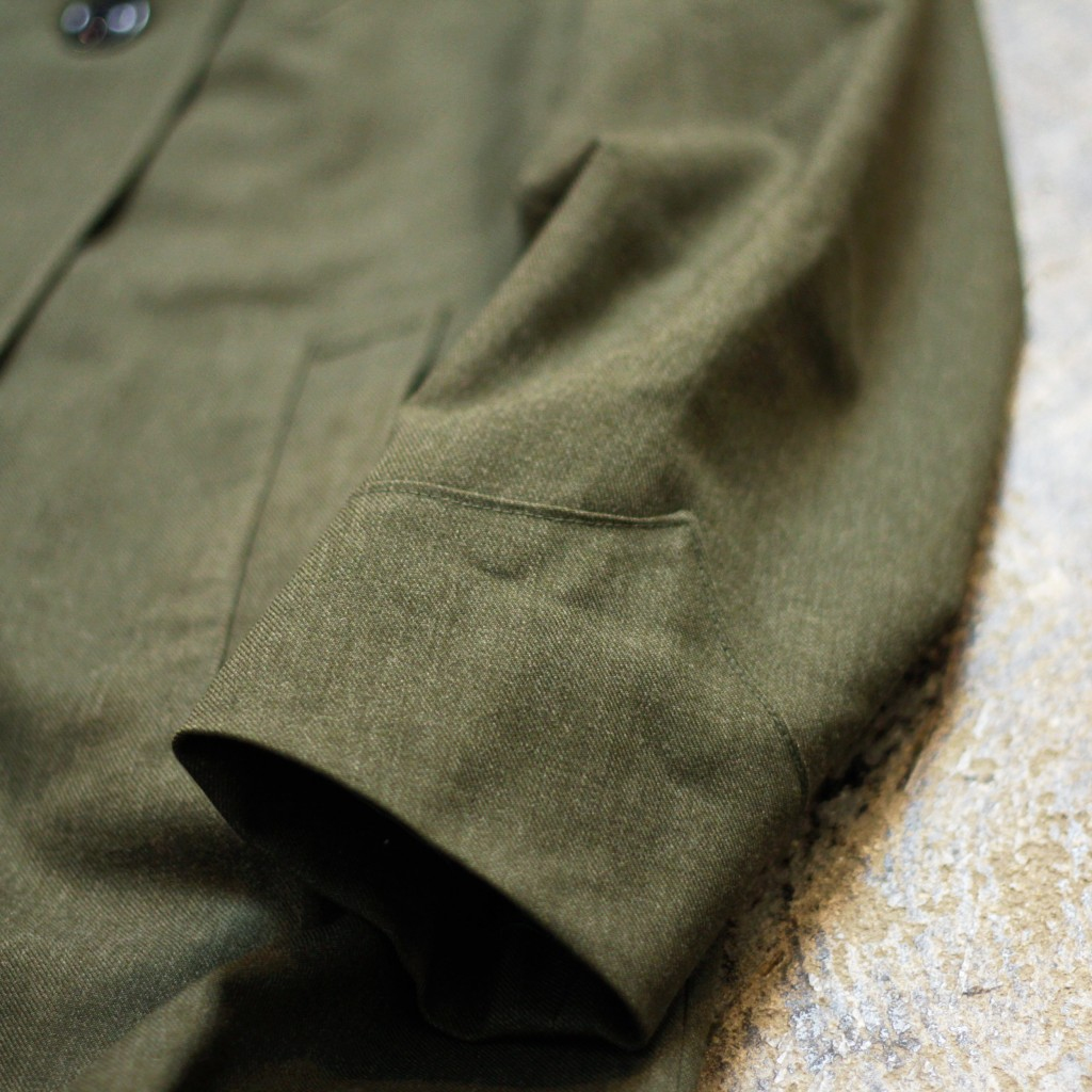 USMC Vintage Military Wool Over Coat
