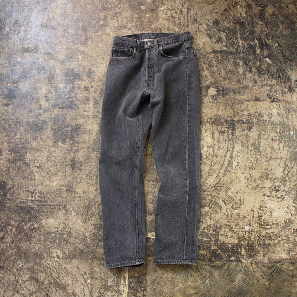 Levi's 501 Black Denim made in USA