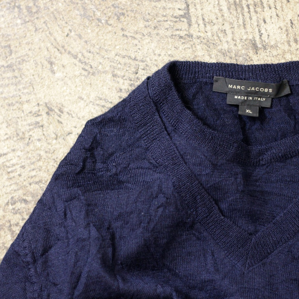 MARC JACOBS Made in ITALY Double Neck Knit