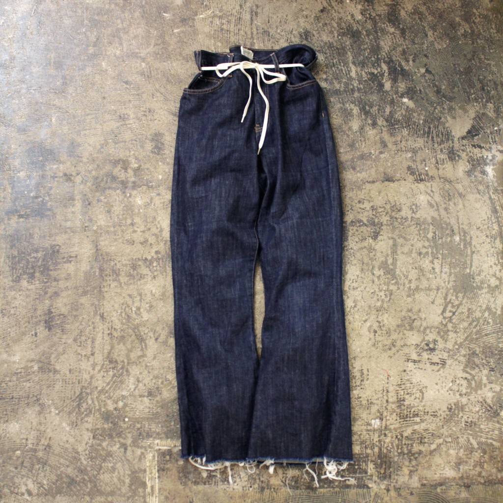 CURRENT/ELLIOTT Cutoff Flare Denim