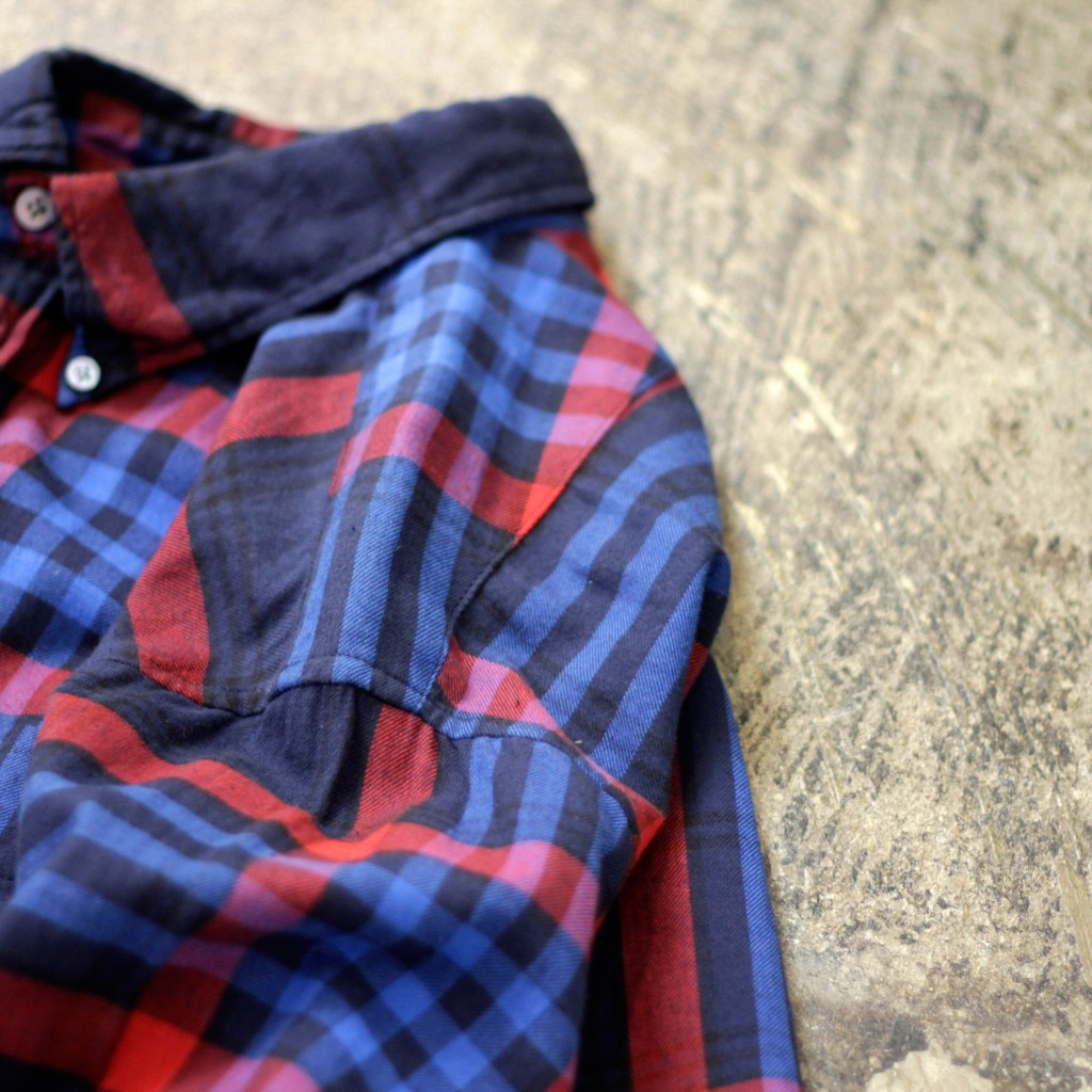 Engineered Garments 2014a/w 19th BD Shirt