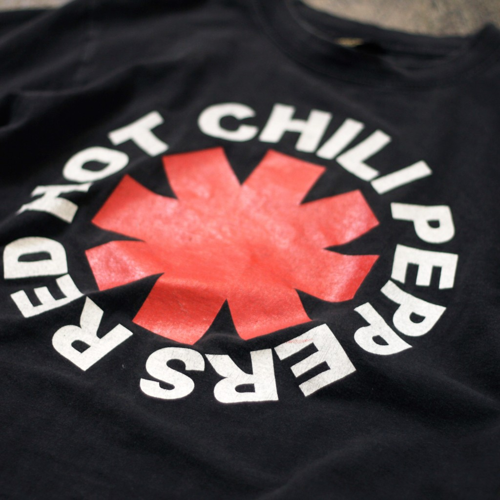 Vintage T-shirt red hot chili peppers