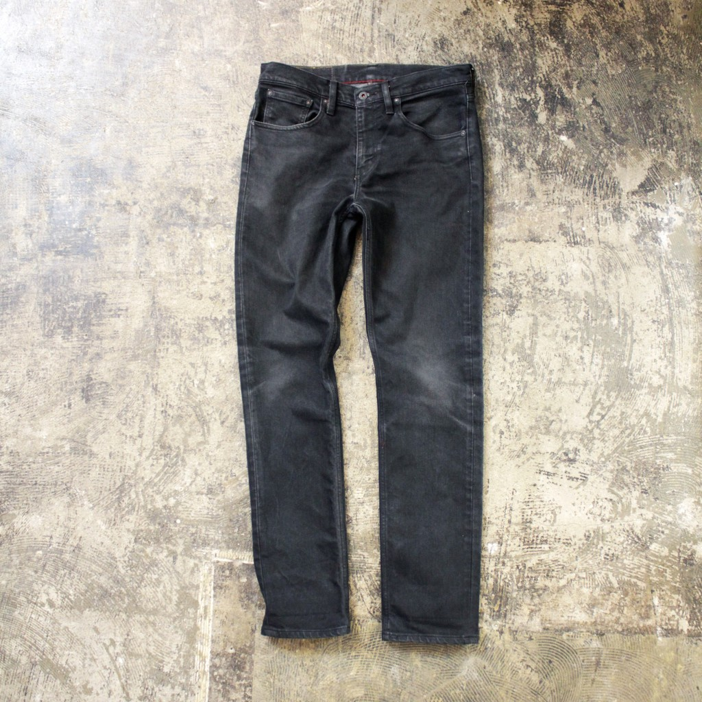 LEVI'S SKATEBOARDING 511 Slim Fit Black Denim