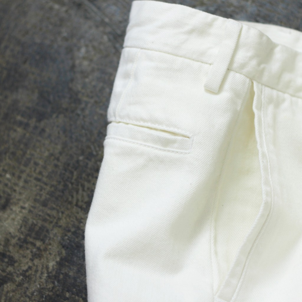 ACNE STUDIOS Tail White Denim Short