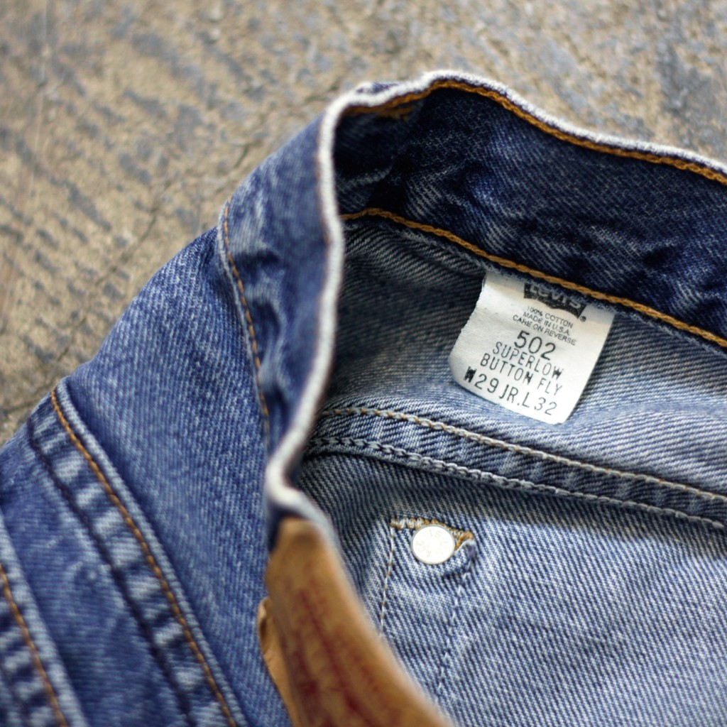 Levi's Vintage 80's 502 Made in U.S.A