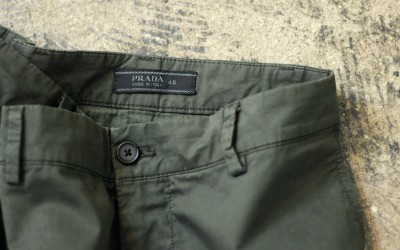 PRADA Cut Off Customize Shorts