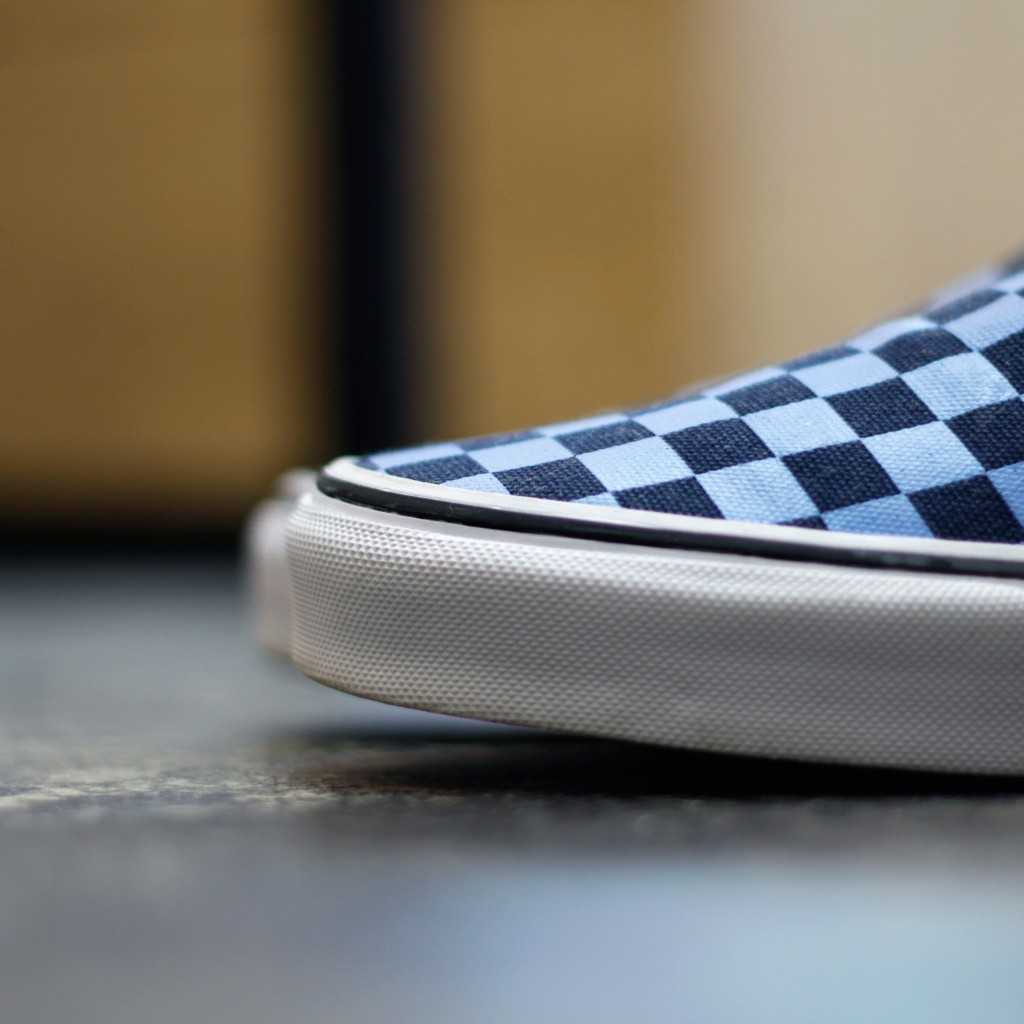 VANS Checker Slip On Golden Coast Collection