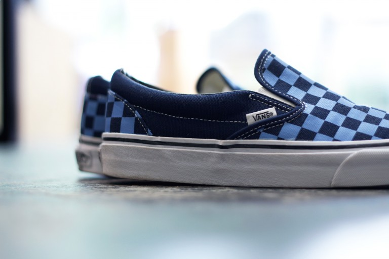 "VANS Checker Slip On ""Golden Coast Collection"""