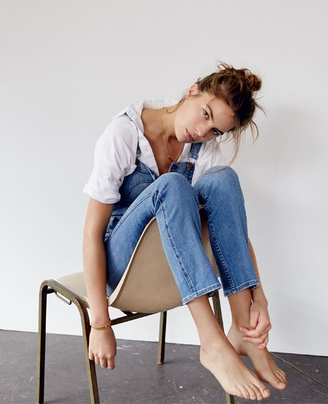 madewell Denim Slim Saloppet