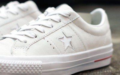 "CONS ONE STAR PRO ""Leather White"""