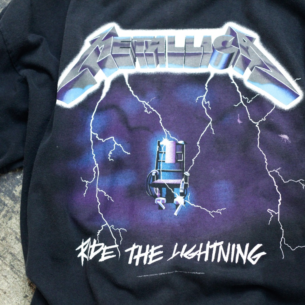 Vintage band T-shirt  Metallica