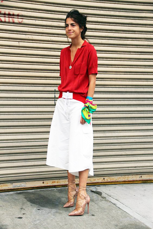 Acne Studios White Shorts