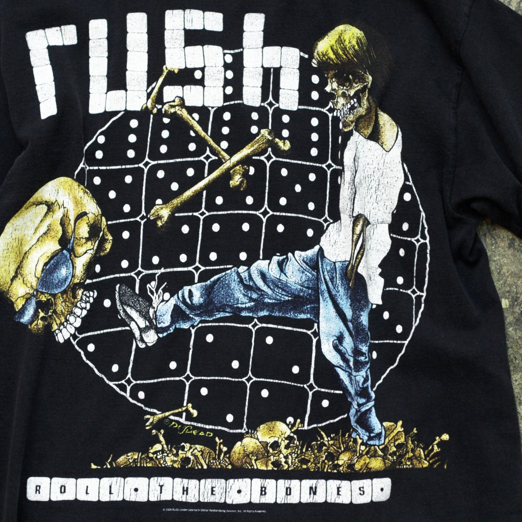 Vintage Band T-shirt 2008 rush
