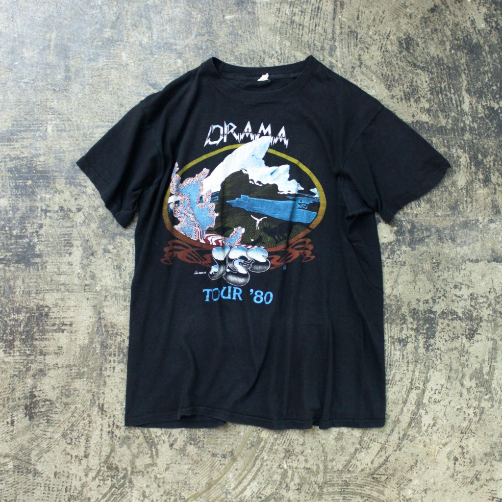 Vintage Band T-shirt 80s yes