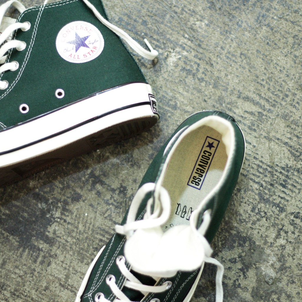 CONVERSE First String 1970 Chuck Taylor Hi Deep Emerald