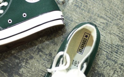 "CONVERSE First String 1970 Chuck Taylor Hi ""DEEP EMERALD"""