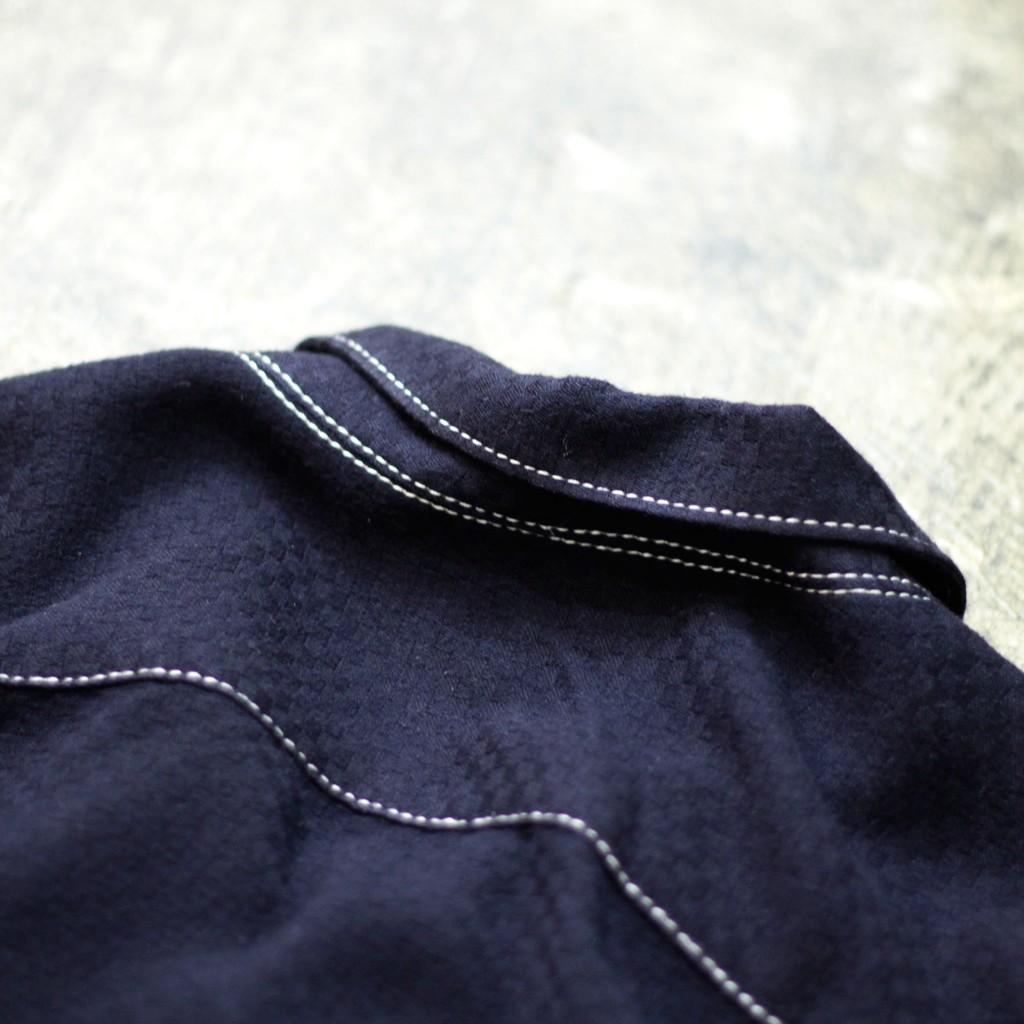 COMME des GARCONS SHIRT S/S Open Collor Shirt