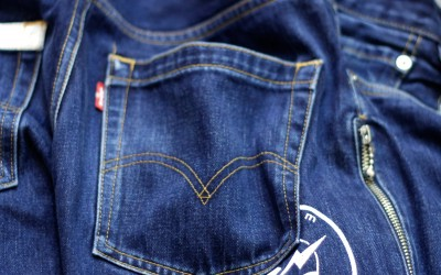 LEVI'S × Fragment Design Fenom Regular Line Denim